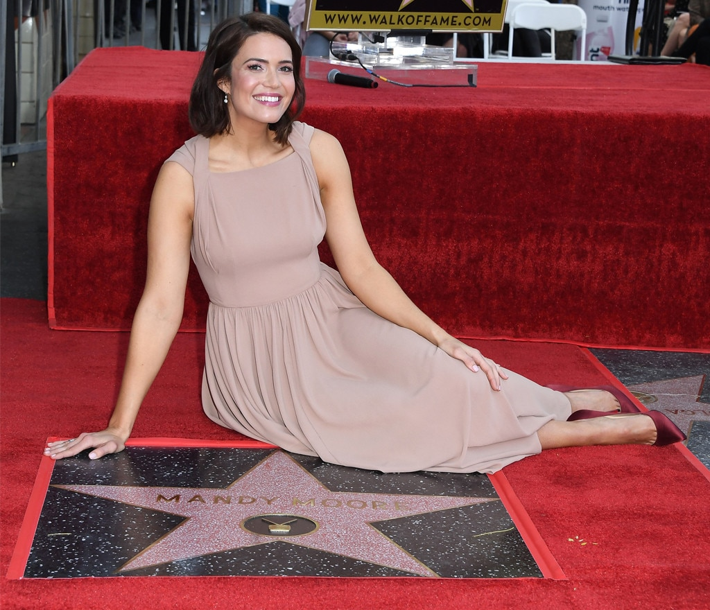 Mandy Moore -  The  This Is Us  star is all smiles as she earned her star on the Hollywood Walk of Fame in March 2019.