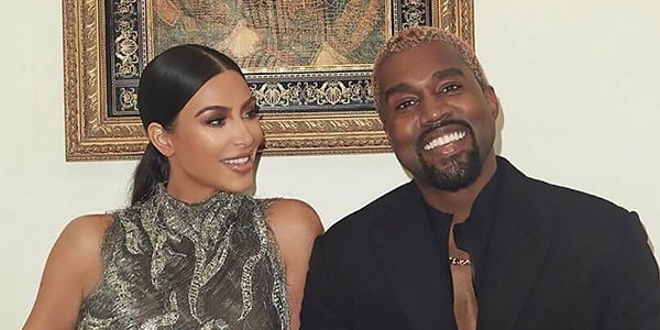 Kanye West Turned a Text Into a Cartier Necklace for Kim Kardashian