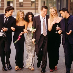 Friends, David Schwimmer, Jennifer Aniston, Courteney Cox, Matthew Perry, Lisa Kudrow, Matt LeBlanc