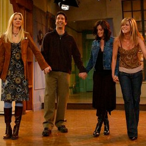 Friends, Courteney Cox Arquette, Matthew Perry, Jennifer Aniston, David Schwimmer, Matt LeBlanc, Lisa Kudrow,