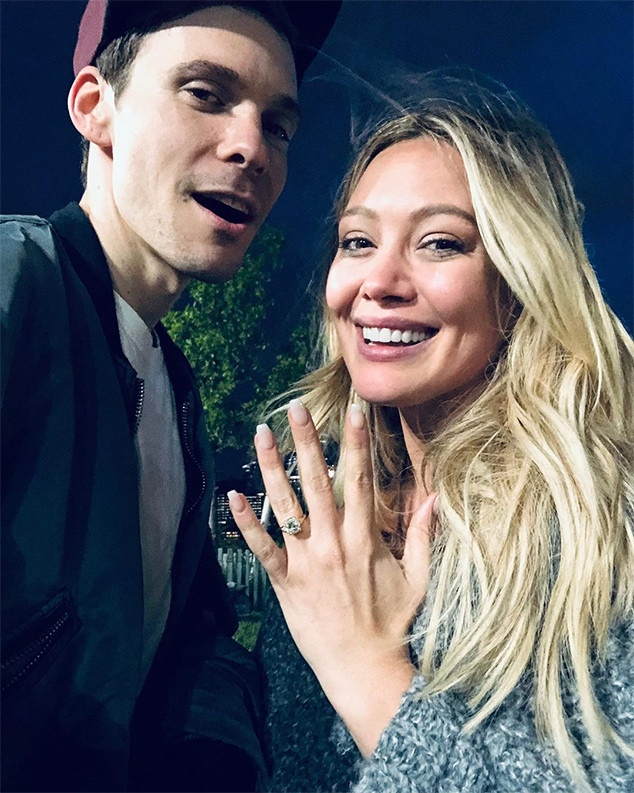 Hilary Duff, Matthew Koma, Engagement, Ring