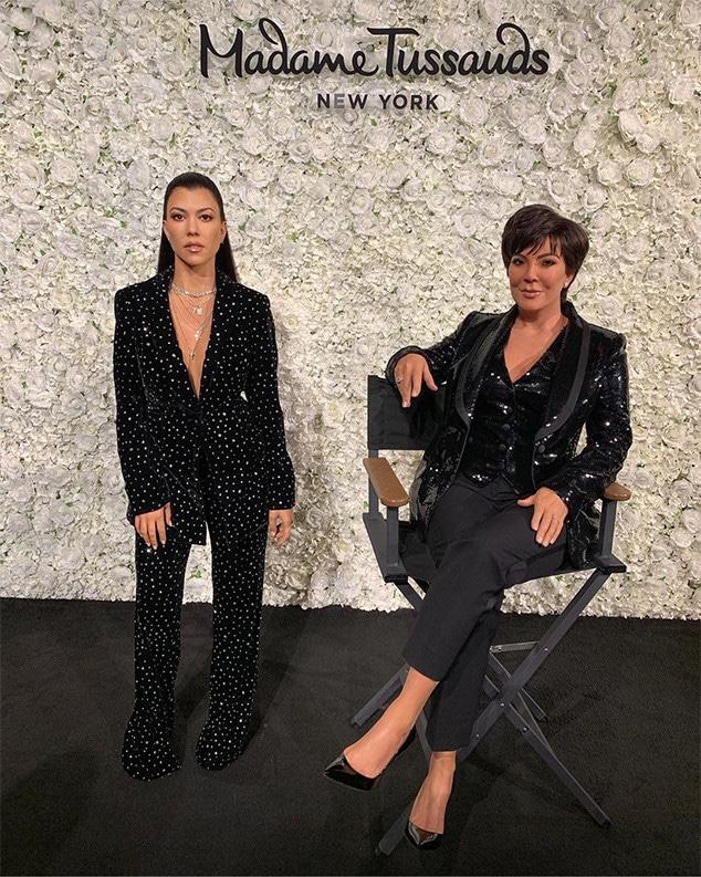 Kourtney Kardashian, Kris Jenner, Madame Tussauds, Wax Figure