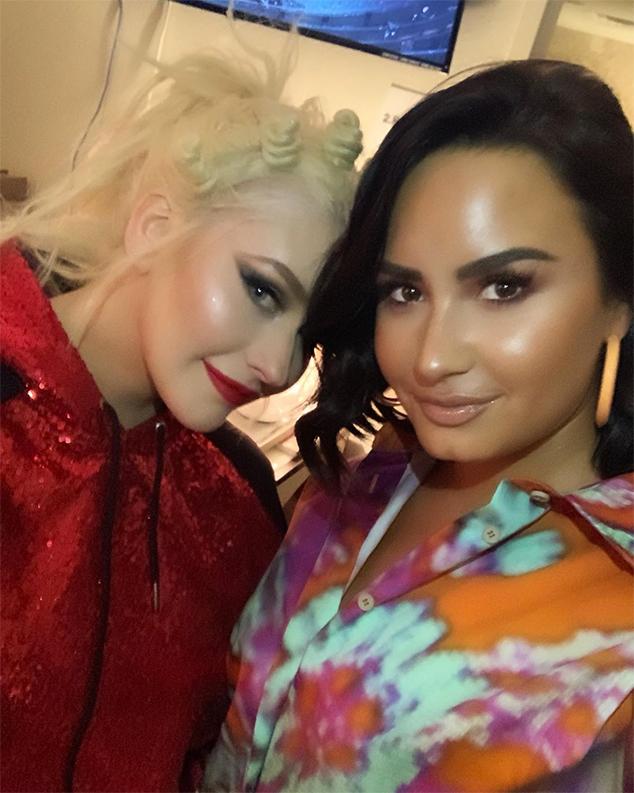 Demi Lovato, Christina Aguilera