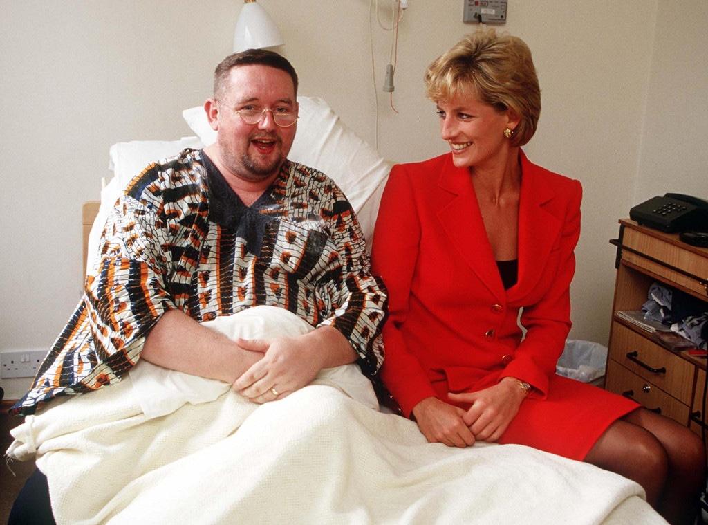 Princess Diana, London Lighthouse Patient