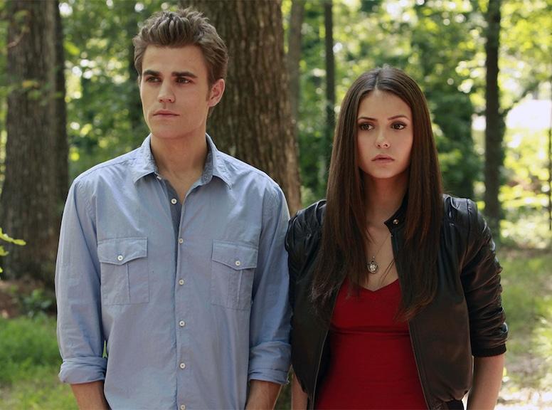 Nina Dobrev, Paul Wesley, The Vampire Diaries