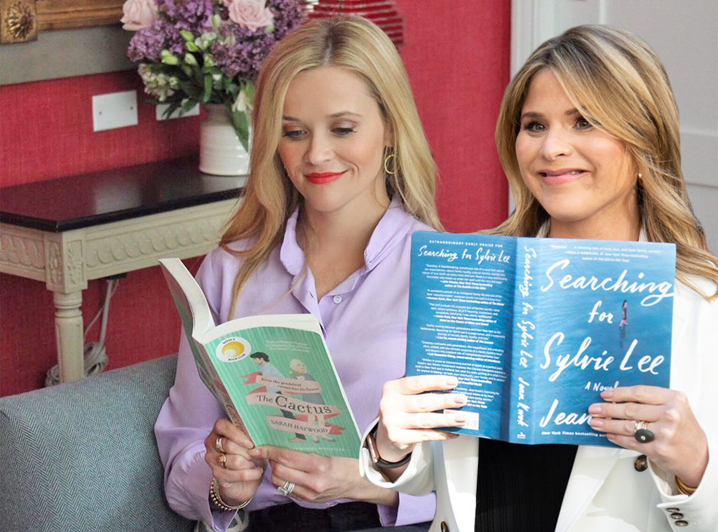 E-Comm: Book Club Picks, Reese Witherspoon, Jenna Bush Hager