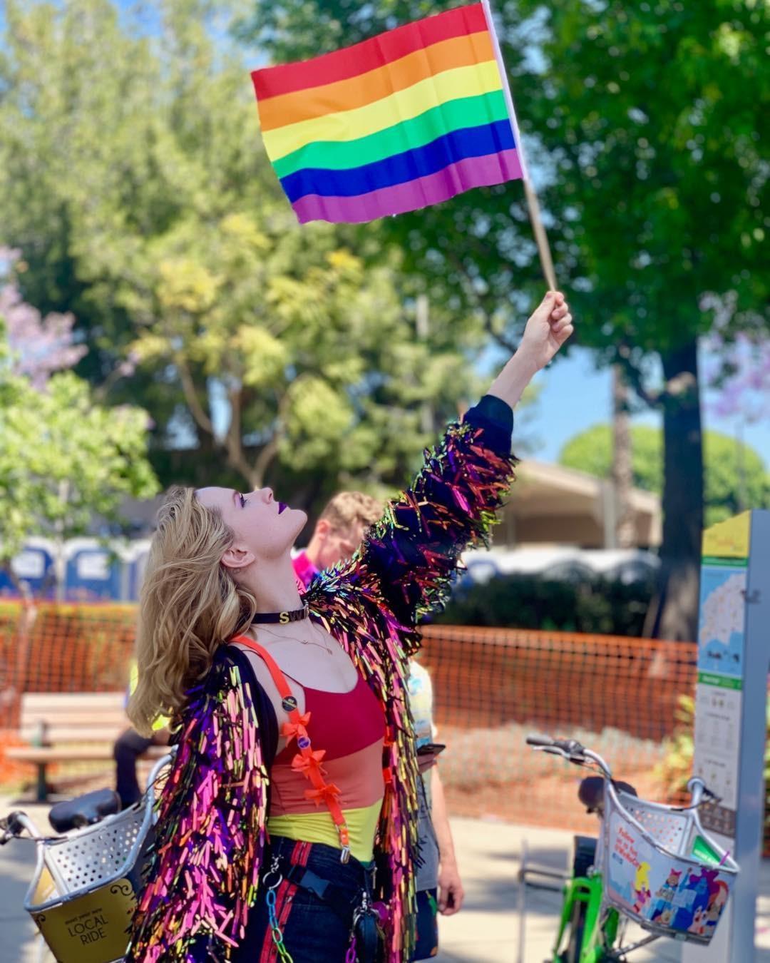 Evan Rachel Wood, Pride 2019