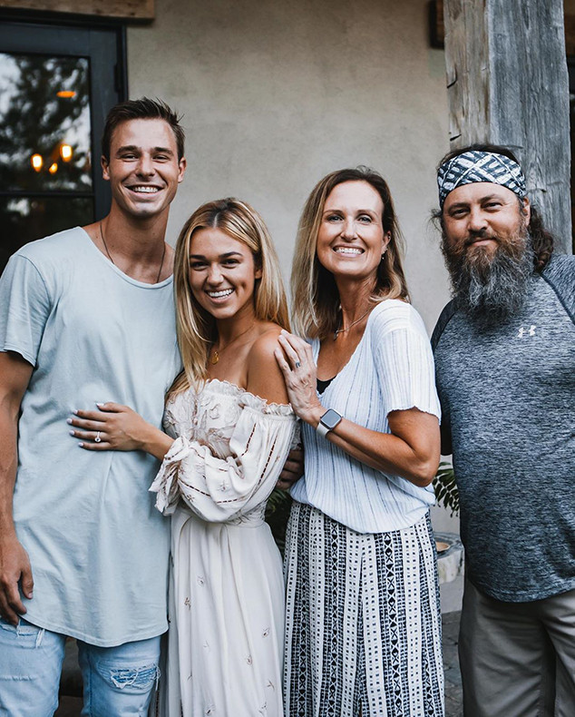 Sadie Robertson, Korie Robertson, Duck Dynasty, Christian Huff