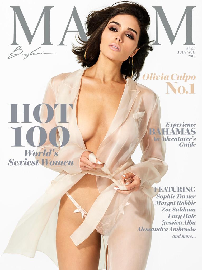 Olivia Culpo Poses Nude as She Lands No. 1 Spot on Maxim's Hot 100