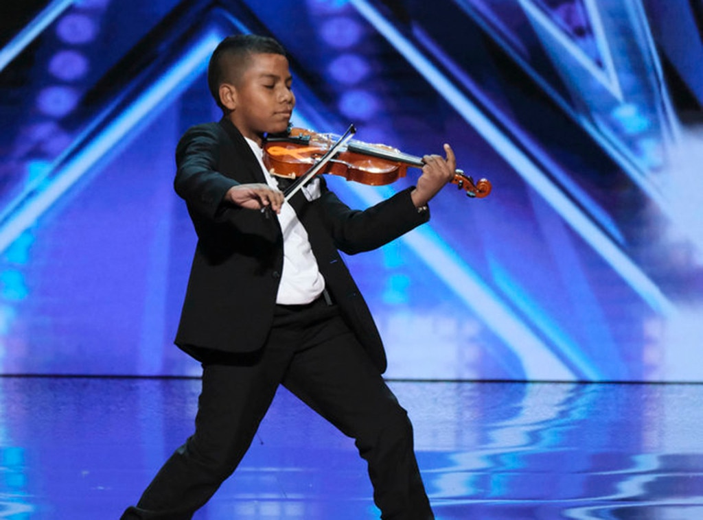 11-year-old cancer survivor earns Golden Buzzer from Simon Cowell