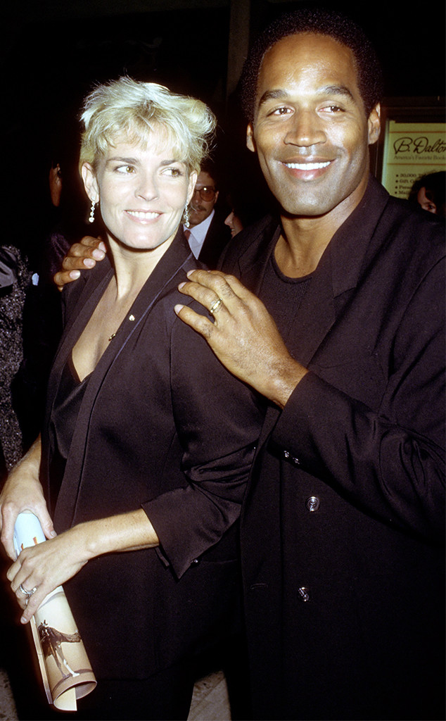 O.J. SImpson, Nicole Brown Simpson, 1987
