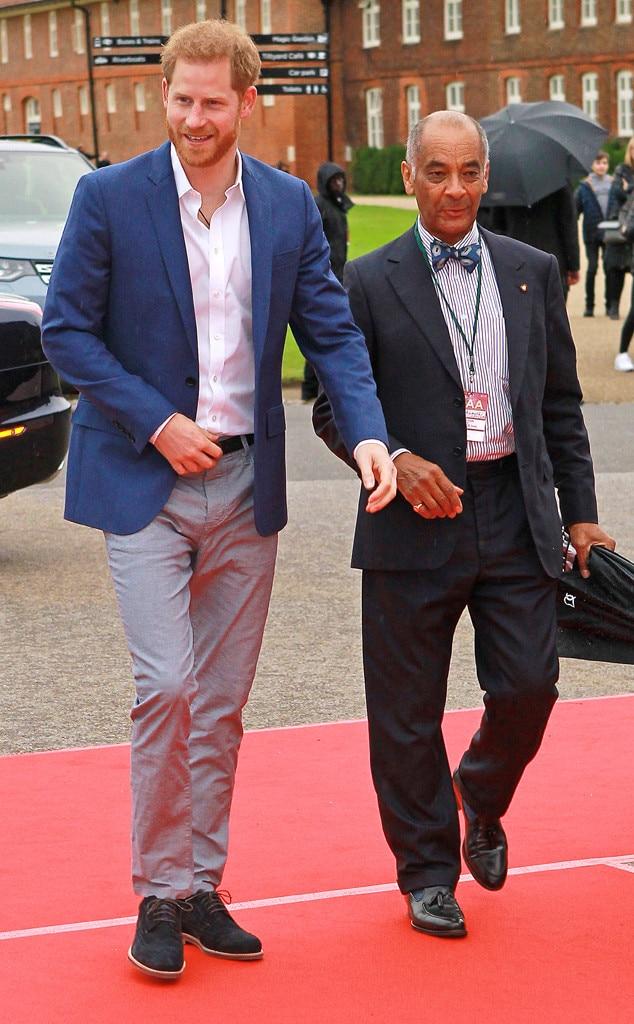 Prince Harry, Sir Kenneth Olisa