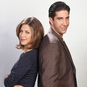 Jennifer Aniston, David Schwimmer, Friends