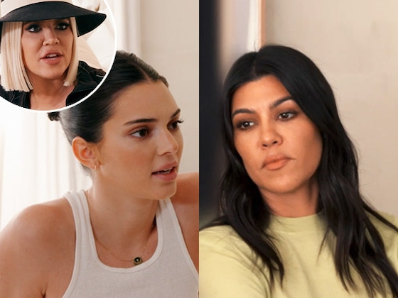 Kourtney Kardashian & Kendall Jenner's Feud Takes an Explosive Turn, But Is Khloe Kardashian to Blame?