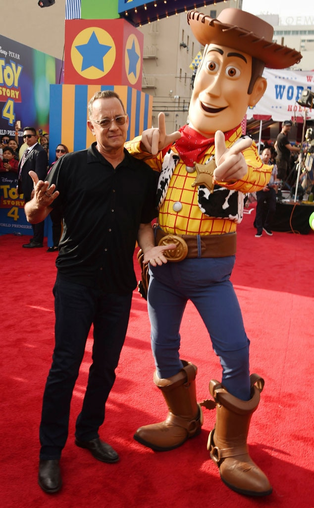 Tom Hanks, Woody, Toy Story 4 Premiere