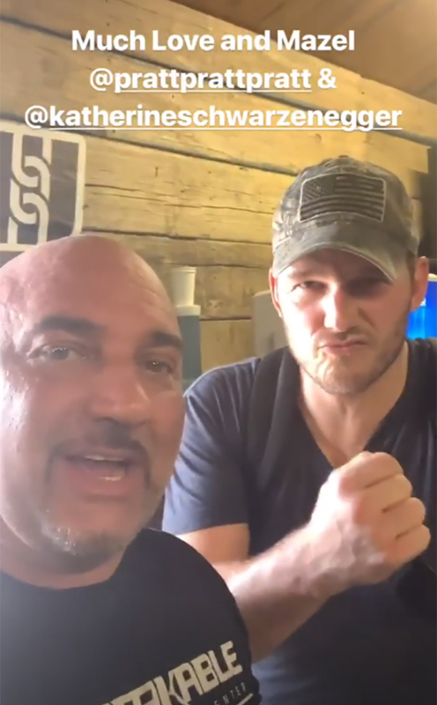 Chris Pratt, Jay Glazer, Instagram