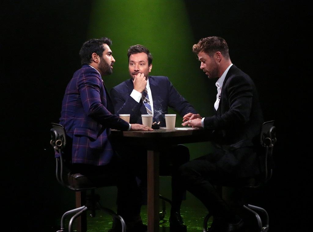 Chris Hemsworth, Jimmy Fallon, Kumail Nanjiani, The Tonight Show Starring Jimmy Fallon