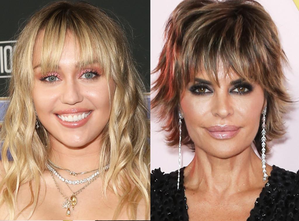 Miley Cyrus, Lisa Rinna