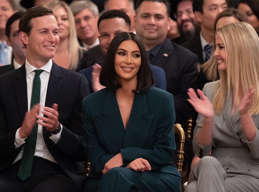 Kim Kardashian, Ivanka Trump, Jared Kushner