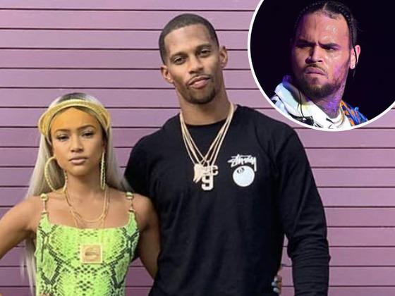 Chris Brown Denies Wrongdoing After Shade Thrown at Karrueche Tran's Boyfriend Victor Cruz