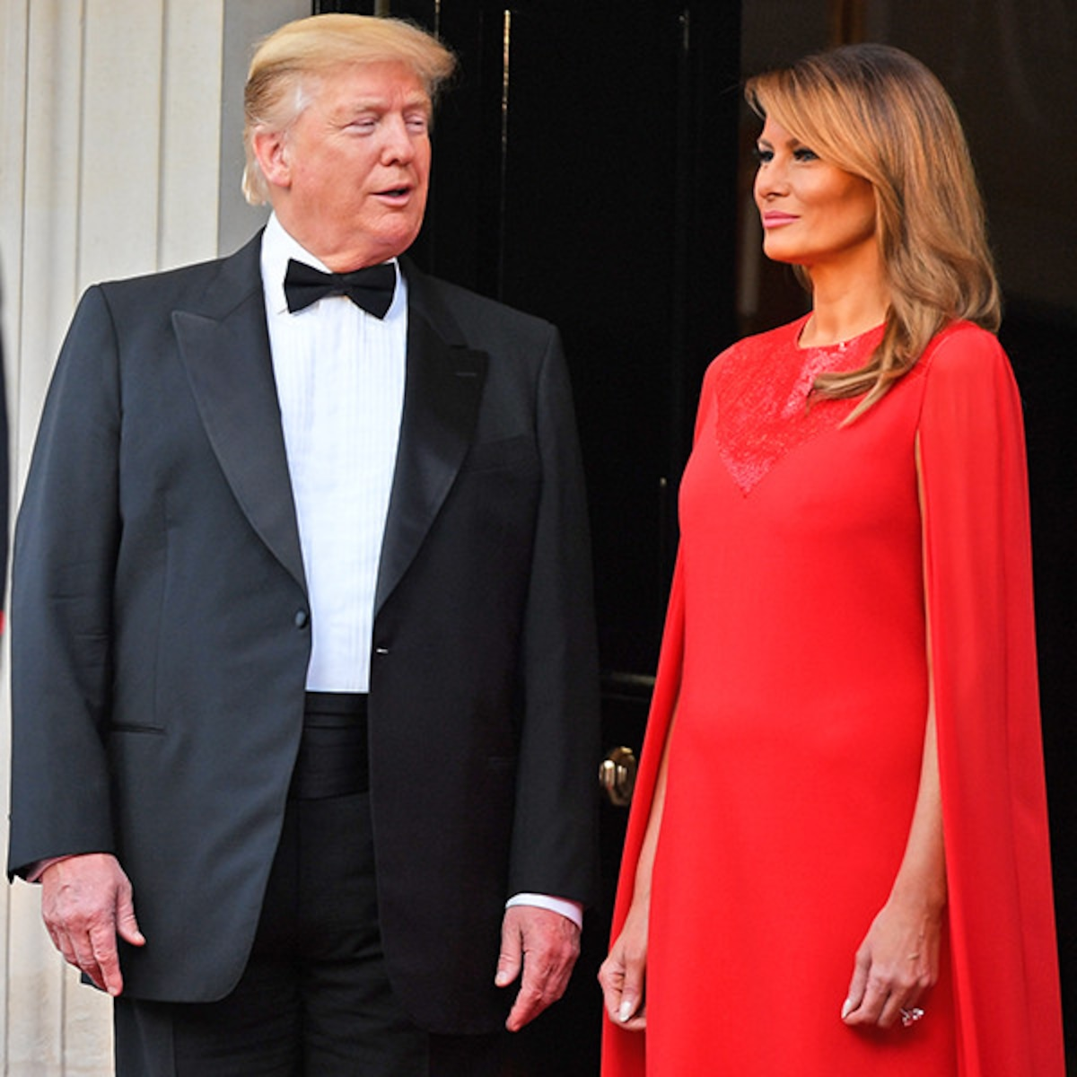How Donald Trump Met Melania An Unusual Road To Being First Couple E Online Au