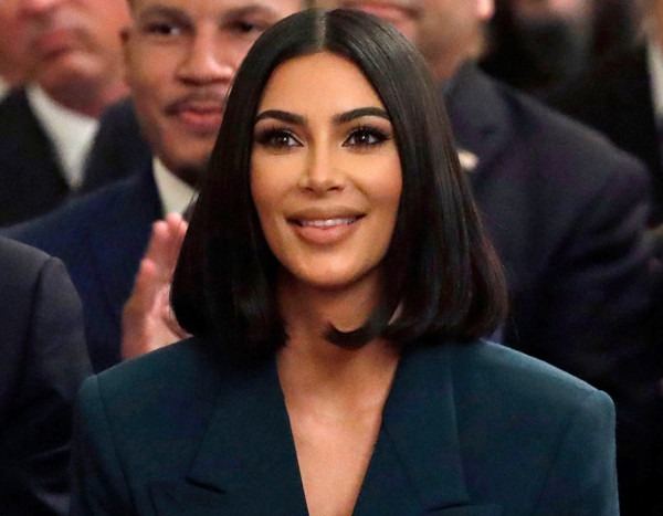 Kim Kardashian Shares First Look at Her New Shapewear Line Kimono--and Chrissy Teigen Is Excited