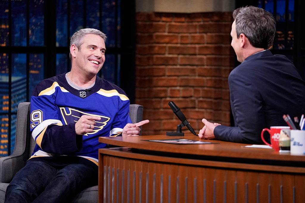 Andy Cohen, Seth Meyers