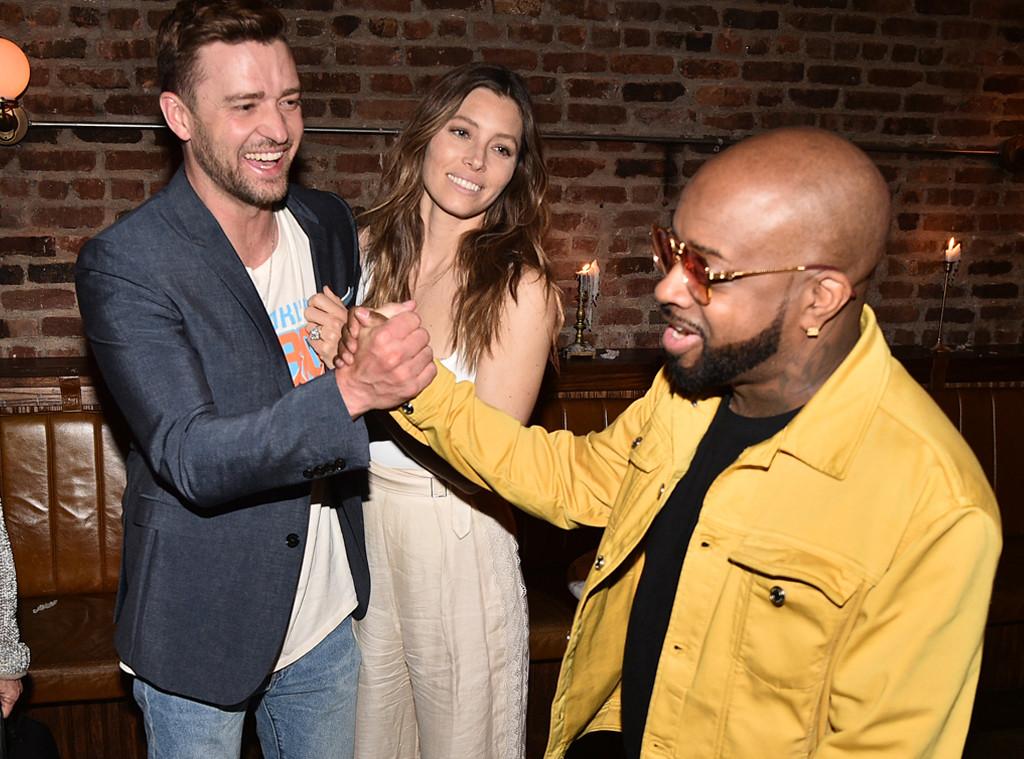 Justin Timberlake, Jessica Biel, Jermaine Dupri, Songwriters Hall of Fame