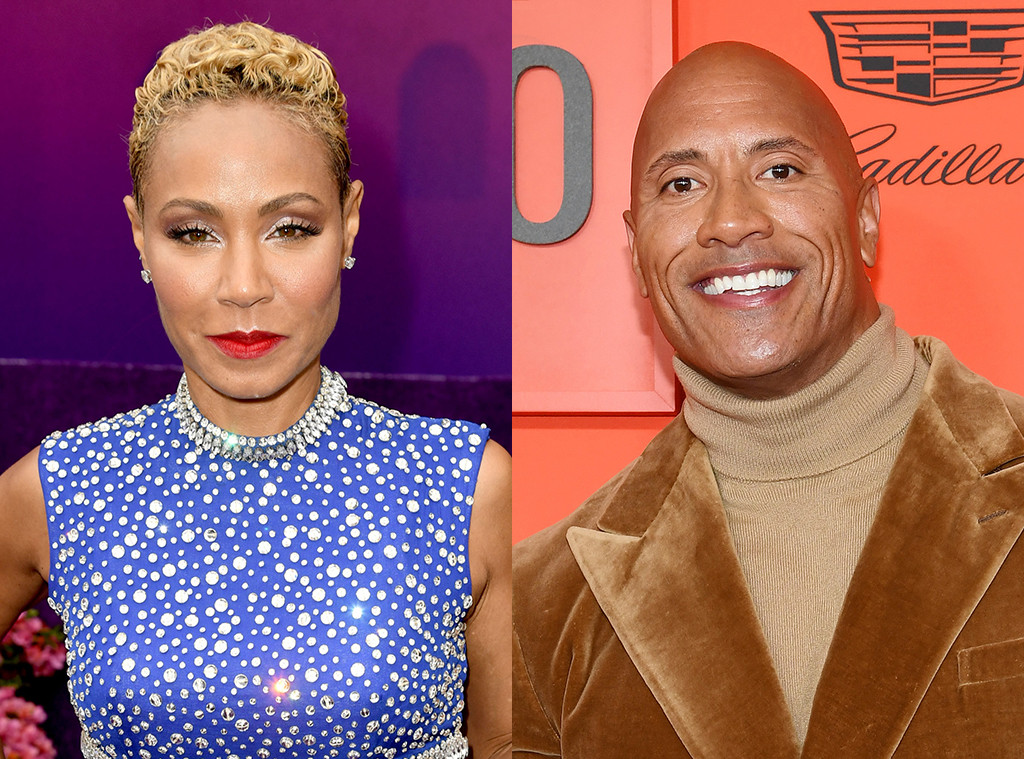Jada Pinkett Smith, Dwayne Johnson, The Rock