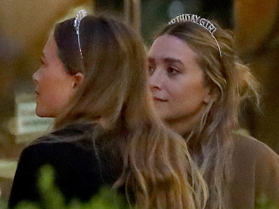 Inside Mary-Kate and Ashley Olsen's 33rd Birthday Party—With Tiaras!