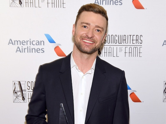 Justin Timberlake Gushes Over Jessica Biel and Son Silas After Award Win