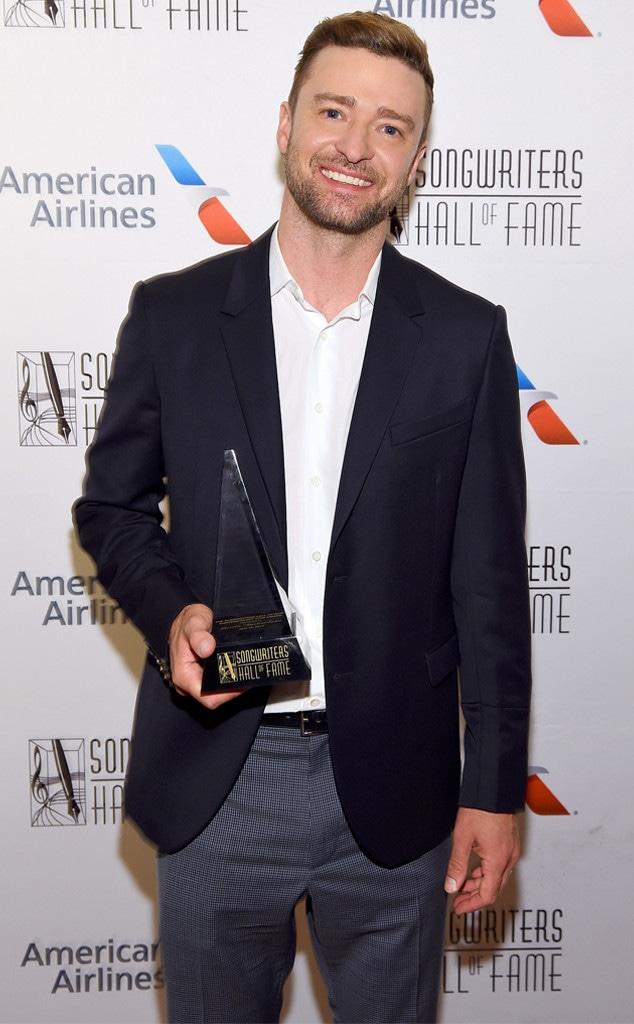 Justin Timberlake, Songwriters Hall Of Fame