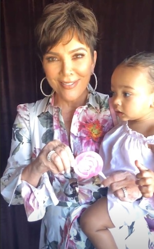 North West, Penelope Disick, 2019 Birthday Party, Candy Land