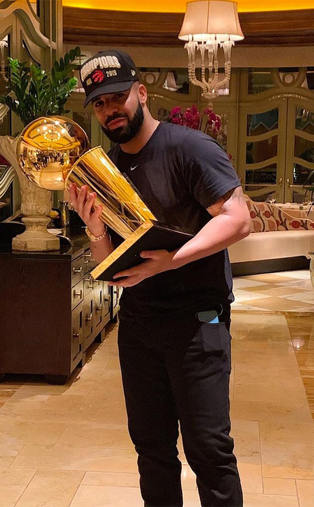 Drake, Toronto Raptors, 2019 NBA Championship Win, Party, Las Vegas