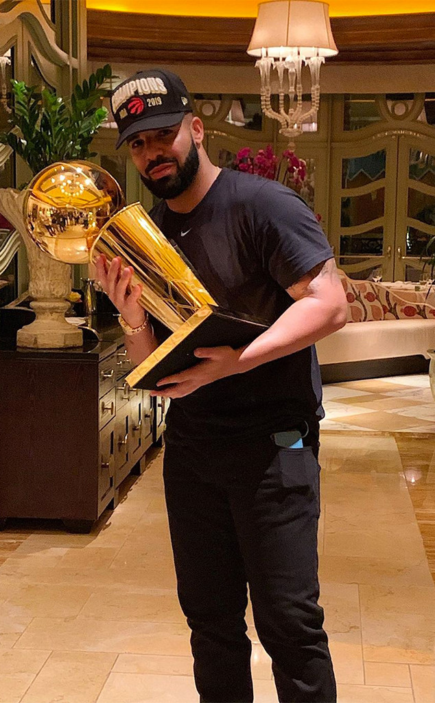 Drake, Toronto Raptors, 2019 NBA Championship Win, Party, Las Vegas