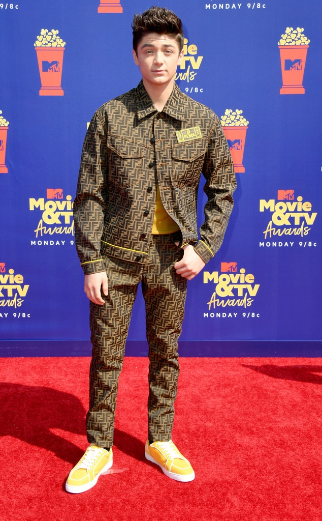 Laura Marano from MTV Movie & TV Awards 2019: Red Carpet
