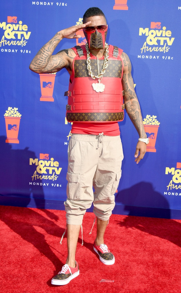 Nick Cannon, 2019 MTV Movie & TV Awards, Riskiest Fashion