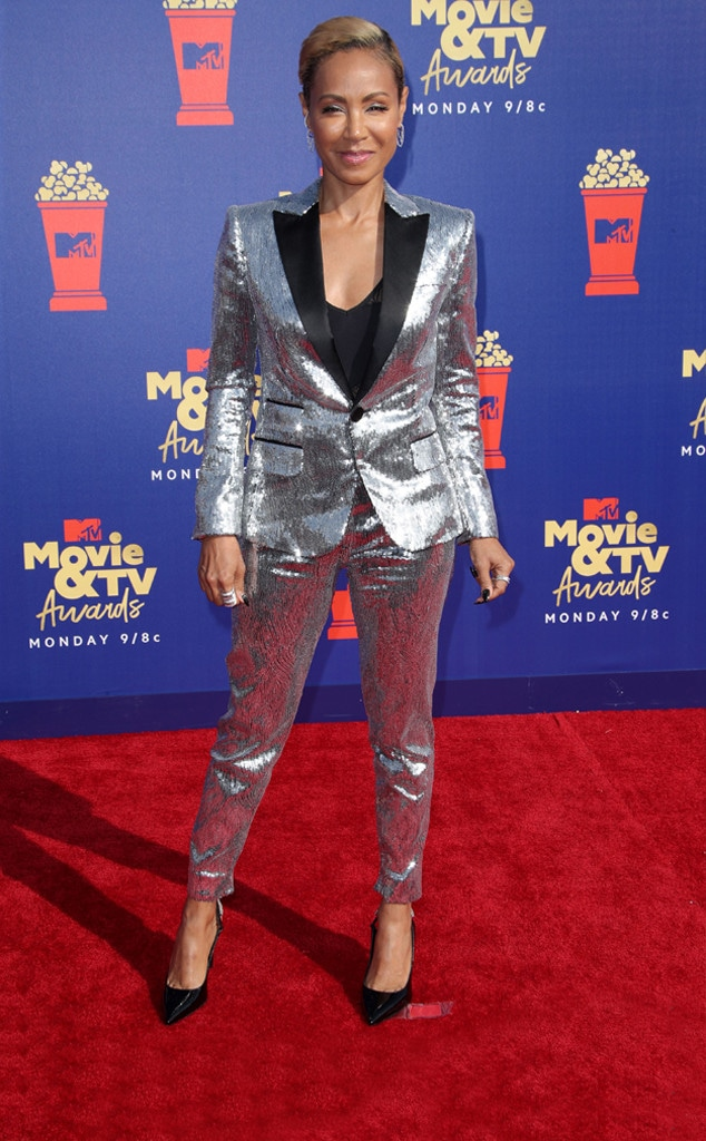 Jada Pinkett Smith, 2019 MTV Movie & TV Awards, Red Carpet Fashions, Daring Looks