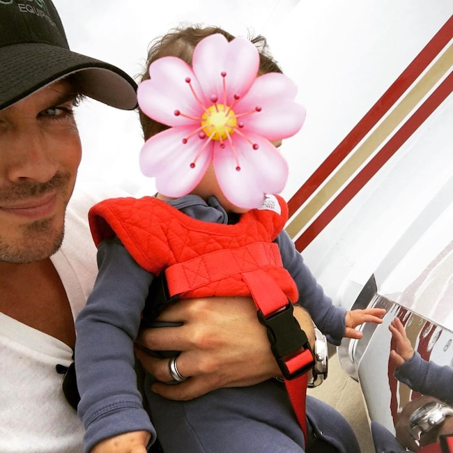 Ian Somerhalder, Nikki Reed, Daughter, Obstructed, Bodhi, Father's Day 2019