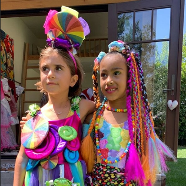 North West & Penelope Disick Have a Candy Land Birthday Bash