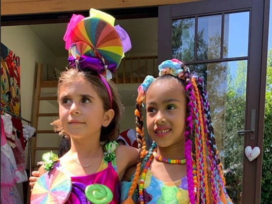 Inside North West and Penelope Disick's <i>Candy Land</i>-Themed Birthday Party