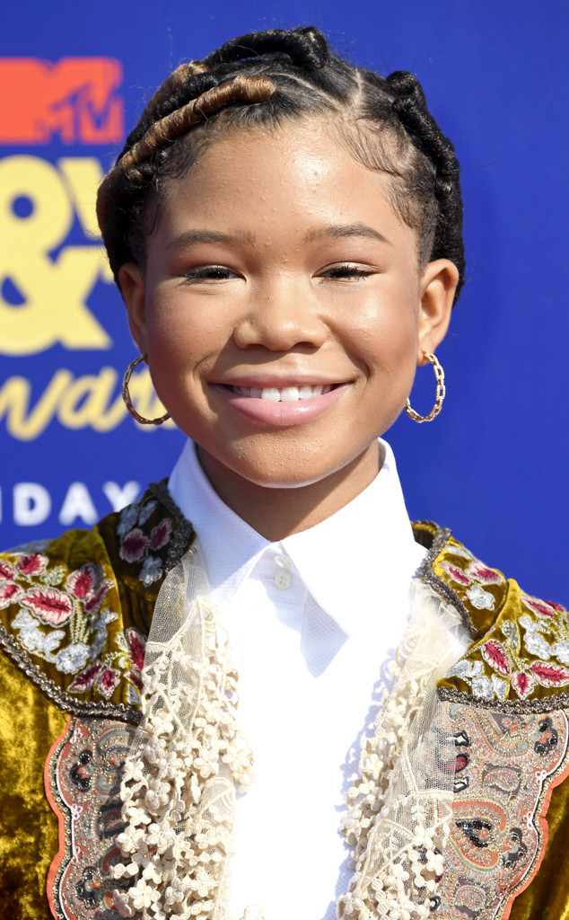 Storm Reid, 2019 MTV Movie & TV Awards, Beauty