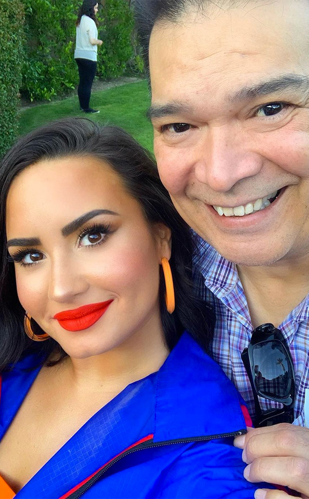 Demi Lovato, Stepfather, Eddie de la Garza, Father's Day 2019