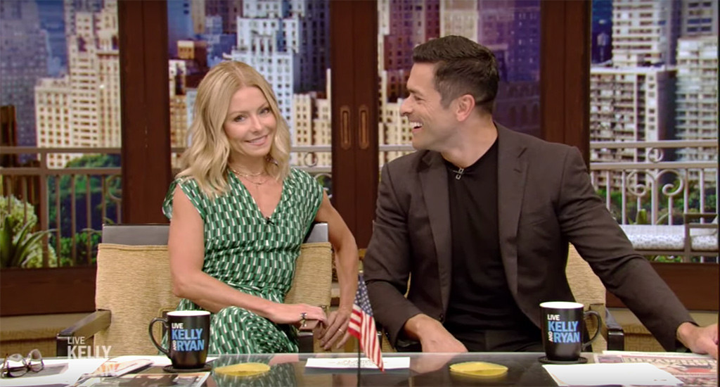 Kelly Ripa and Mark Consuelos' Daughter Lola Walked in on Them Having Sex