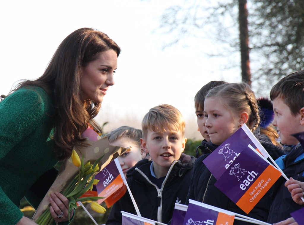 Kate Middleton, Each Hospices