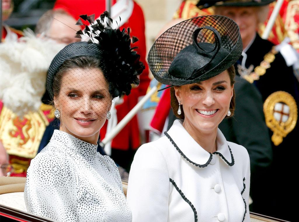 Kate Middleton, Queen Letizia