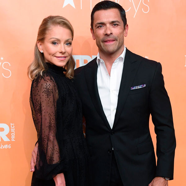 Kelly Ripa Shares Extremely Thirsty Video of Mark Consuelos' Workout