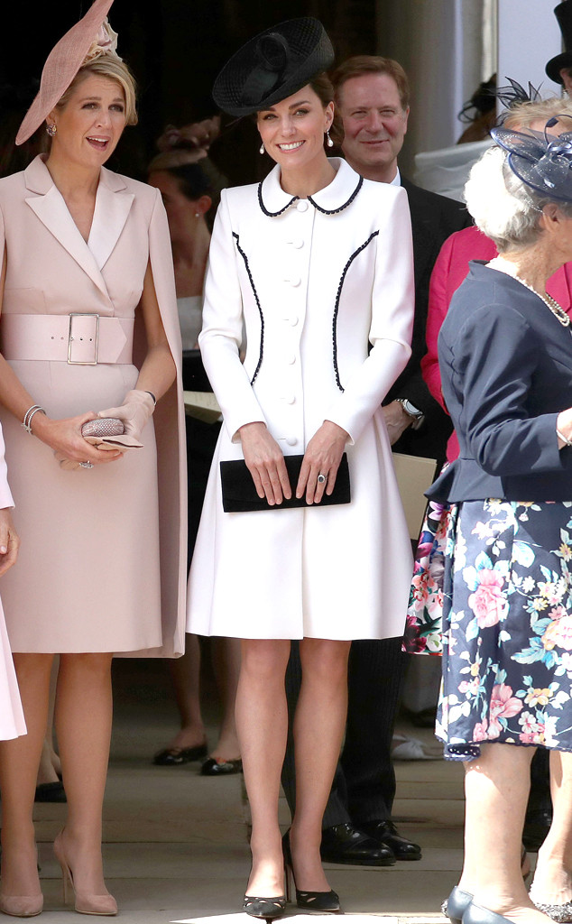 Kate Middleton's Order of the Garter Look Proves Black and White Will Never Go Out of Style