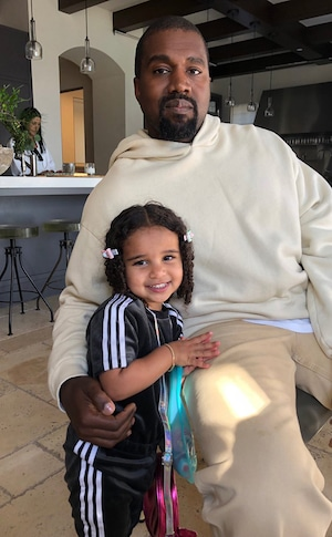 Dream Kardashian, Kanye West