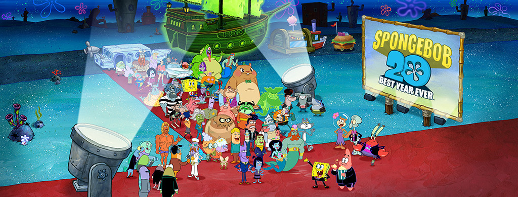 SpongeBob SquarePants Assembles Its Celebrity Guest Stars for One Epic Celebration